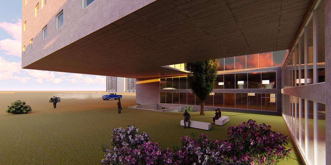 Visualisierung Bürogebäude1